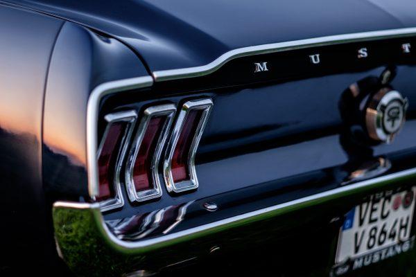 linke Heckleuchte 67er Ford Mustang
