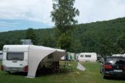 Wohnwagen Camping Main Spessart