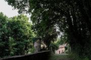 Blick auf dem Weg zur Burg