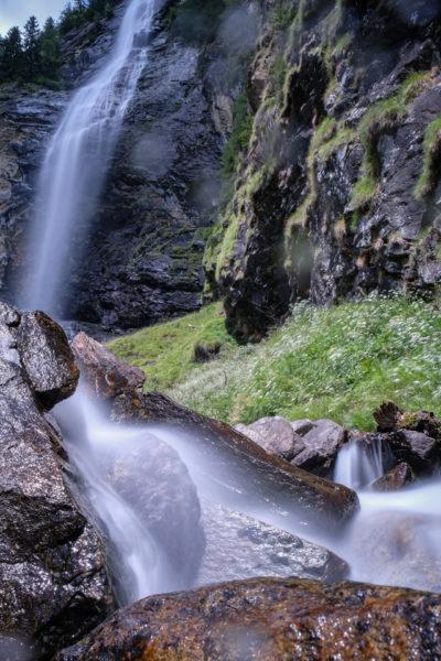 Fallbach Wasserfall Maltatal Langzeitbelichtung