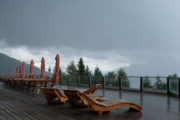 Helm Bergstation, Regenschauer