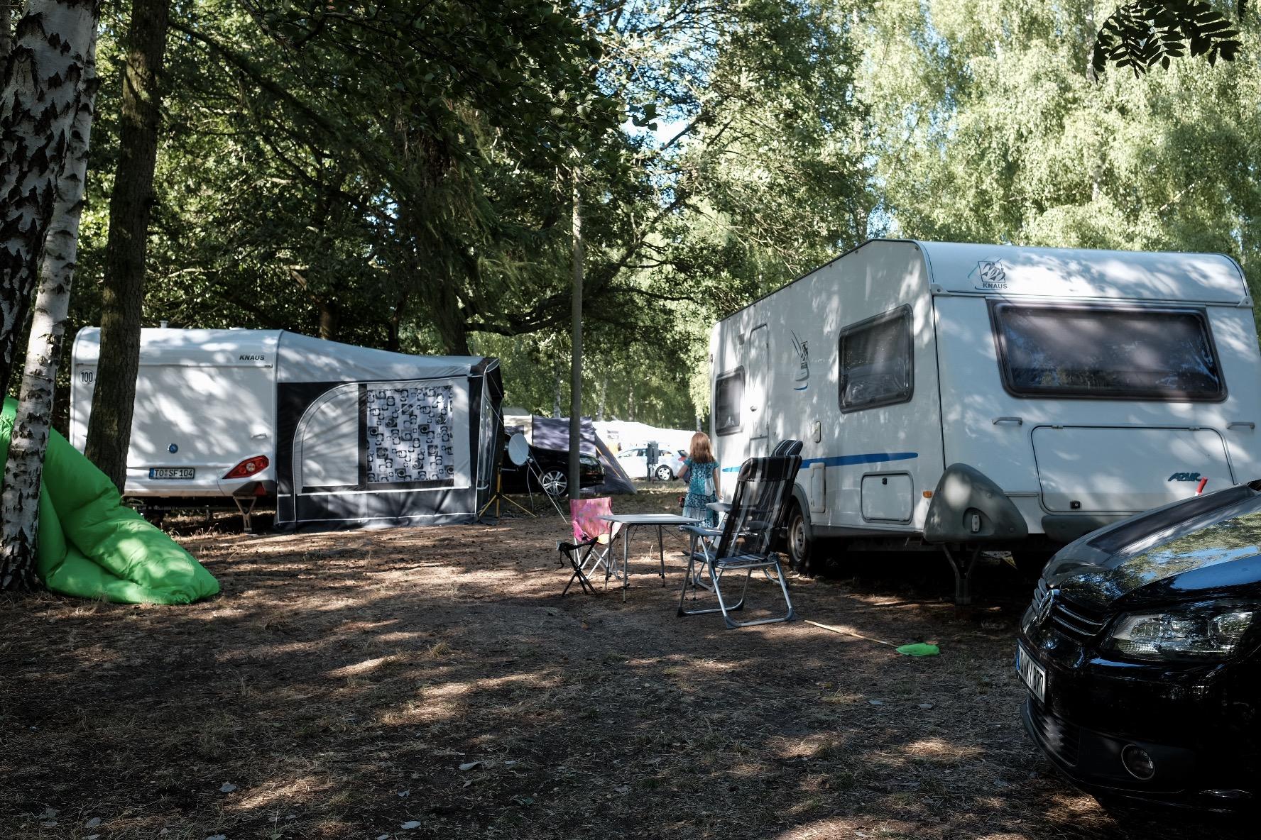 Camping Ecktannen Stellplatz