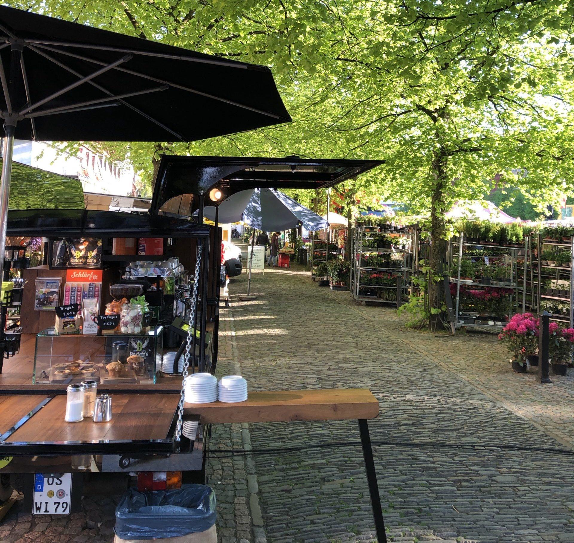Kaffeebar Wochenmarkt Osnabrück